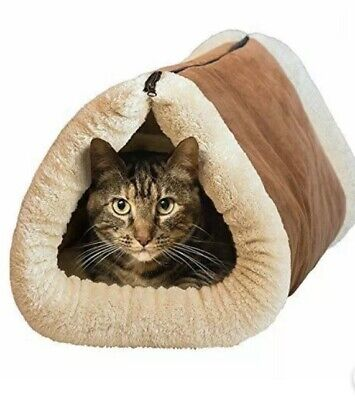 2 In 1 Kitty Shack Self Heating Cat/Kitty Portable Hot Bed And Mat Tunnel Bed • 8.99£