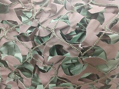 $69.95 • Buy 10x20 Woodland Camouflage Netting Military Surplus Camo BLIND Net Shade Cover
