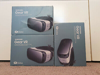 AU50 • Buy 3 X Samsung Gear VR Headsets - 2 Are NEW!
