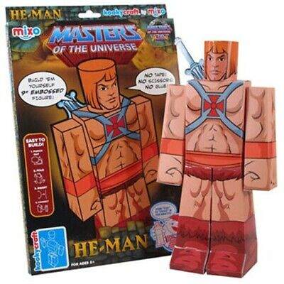$20 • Buy He-Man Masters Of The Universe Kooky Craft 9  Embossed Figure Mixo MOTU FUNKO