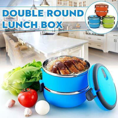 AU18.64 • Buy  Lunch Box Bento Thermos Heat Food Container Portable Compact Food Warmer