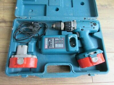 Makita 6343D 18V Cordless 1/2-in. Drill/Driver W/ Charger, Hard Case/2 Batteries • 16£