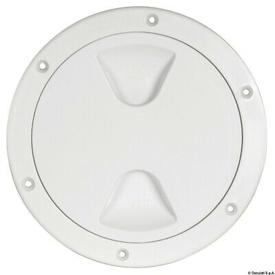£6.95 • Buy Osculati Boat Round Inspection Hatch Access Hole 102 Mm White - 20.204.00