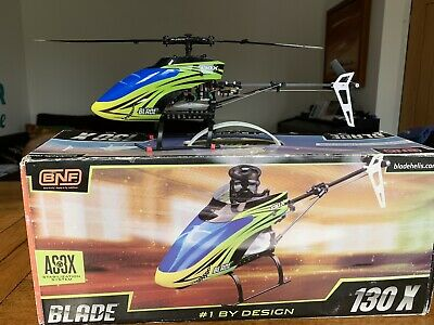Eflite Blade 130x RC Helicopter  - With AS3X-  Read Description • 65£