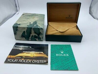 $ CDN127.21 • Buy VINTAGE GENUINE ROLEX Watch Box Case 68.00.08 Booklet 0907007mm