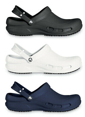 Crocs Adults Bistro Mens Womens Slip Resistance Croslite Work Clogs • 34.99£