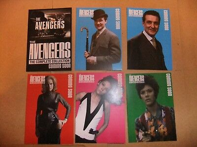 £12.99 • Buy THE AVENGERS DIANA RIGG EMMA PEEL TV 6 Card Unstoppable Preview Set Promo MacNee