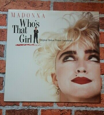 £5.99 • Buy Madonna - Who's That Girl Original Motion Picture Soundtrack Vinyl LP VG+/VG+