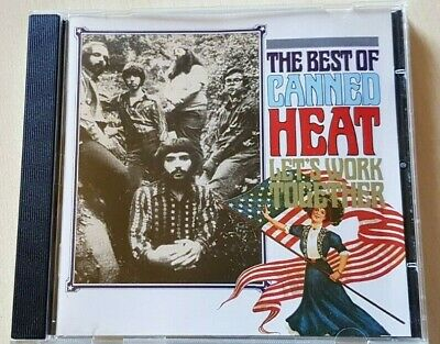 The Best Of Canned Heat Cd  -  Let's Work Together • 2.50£