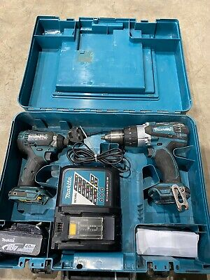 Makita DHP458 18V Combi Drill With DTD152 Impact Driver Twin Pack SP2860 • 68£