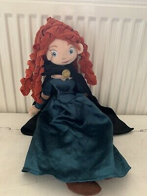 Disney Store Brave Merida Soft Toy Plush Doll • 6£