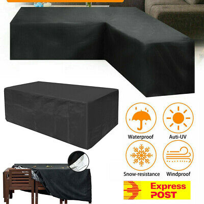 AU19.99 • Buy Waterproof Outdoor Furniture Cover Garden Patio Rain UV Table Protector Sofa AU
