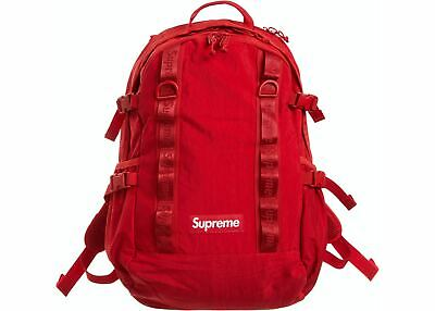 $ CDN244.42 • Buy Supreme Red Backpack Fall Winter 2020 Item In Hand - Will Ship SAME DAY