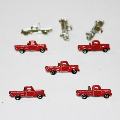 $2.25 • Buy Red Truck  Brads *  Eyelet Outlet  8 Pcs Ride  New Just In Stock
