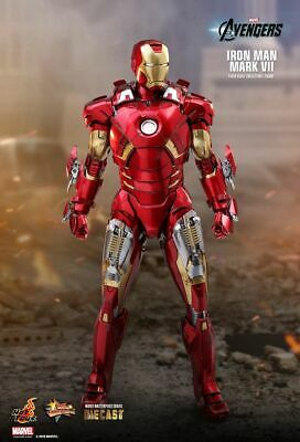 AU699 • Buy Iron Man Mk VII 12  Hot Toys 1/6 Scale DIECAST Action Figure [MMS500D27]