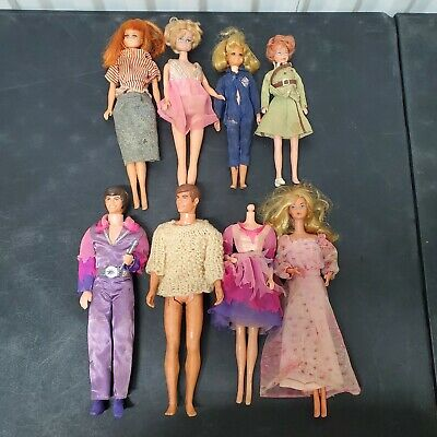 $ CDN13.99 • Buy Lot Of Vintage Princess Grace Barbie Clone Ken Clothes Accessories 8 Dolls 1968