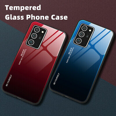 $ CDN4.99 • Buy Gradient Tempered Glass Case Cover For Samsung Galaxy S20 S10 Plus Note 20 Ultra