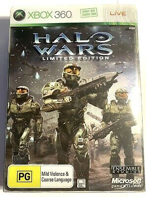 AU0.99 • Buy Microsoft Xbox 360 Halo Wars Limited Edition With Everything Inside