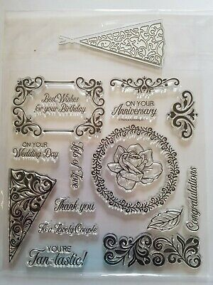 Clear Acrylic Stamp & Die Set,special Occasions • 2.10£
