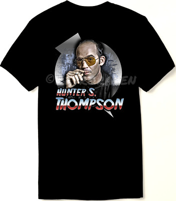 $22.98 • Buy Hunter S. Thompson Tribute T Shirt - Fear And Loathing - 60's Retro - New