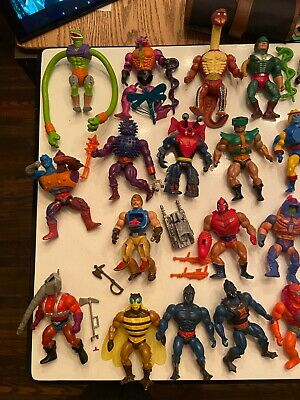 $305 • Buy Masters Of The Universe Vintage 1980's Toy Lot 30 - Pre-Owned