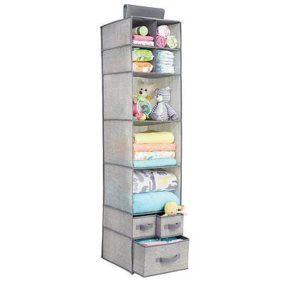 Shelving Of Fabric Baby Clothes Organiser Y Accessories With 7 Tier Y 3 Drawers • 119.41£
