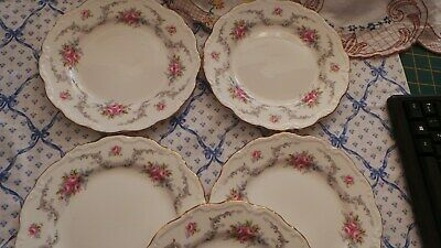 7 Royal Albert Tranquillity Plates 8 Inch Excellent • 20£