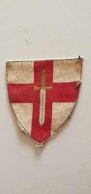 £10 • Buy First Army 1st Cloth Formation Sign Patch Badge  Genuine Ww2