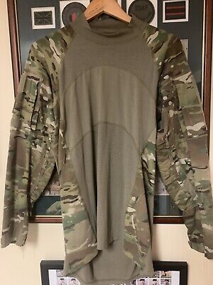 Genuine Issue US Army Ranger SF MTP COMBAT Ubac  SHIRT, Large • 30£