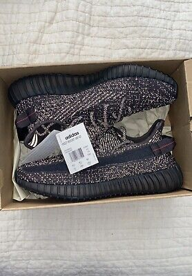 $ CDN88.32 • Buy Adidas Yeezy Boost 350 V2 STATIC BLACK Reflective SIZE 10 DS READ