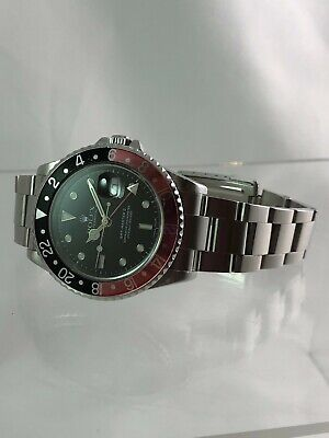 $ CDN14535.96 • Buy 1999 Rolex Oyster Perpetual GMT-Master II 16710 Coke Stainless Steel Wristwatch