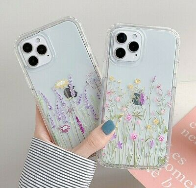 AU10.95 • Buy Iphone 12 Cute Flower Phone Case For IPhone 11 Pro Max SE 7 8 Plus XS Max XR