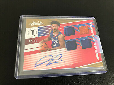 "AU60 • Buy Jerome Robinson ""Tools Of The Trade"" RC "" #'/99"" 2018-19 Absolute RPA"