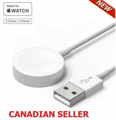 $ CDN8.99 • Buy Brand New Magnetic  Apple Watch Charger For Series 1 2 3 4 38  40  42  44