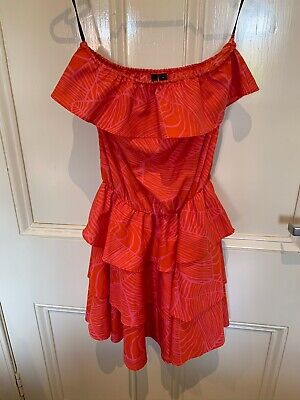 AU12.99 • Buy Forever New Red Strapless Dress Size 6