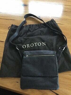 AU79.99 • Buy Genuine Quality Oroton Brown Leather Cross Body Bag With Dustbag Stunning!