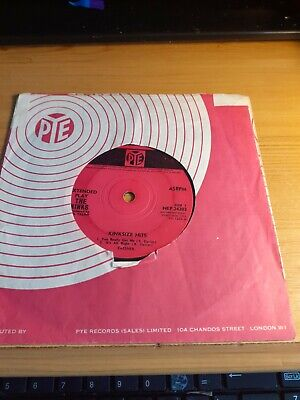 The Kinks Kinksize Hits Ep You Really Got Me / Al Day And All 45 Vg+ Vinyl Fair+ • 9.95£