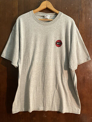 $ CDN72.50 • Buy Vintage Nike T Shirt Mens Size Large 90s Made In Usa Force Basketball Rare White