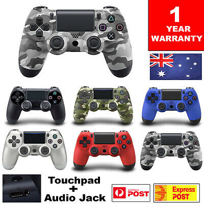AU42.99 • Buy For PS4 Game Controller Wireless Bluetooth DualShock 4 PlayStation4 V2 Gamepad