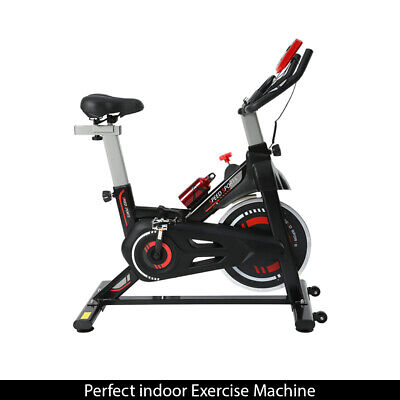 Exercise Bike 8kg Flywheel Gym Cardio Spin Bike Fitness Indoor Workout Machine • 134.99£