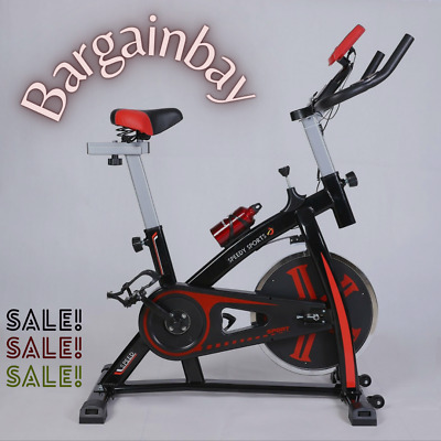 Exercise Bike 12kg Flywheel Spin Bike Home Training Fitness Indoor Cycle • 169.99£