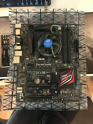ASUS Z170 PRO GAMING ATX Motherboard And Intel Core I5 6600k 3.5 GHz CPU Bundle • 100£