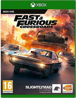 XBOX ONE Fast And Furious: Crossroads Game Racing • 28£