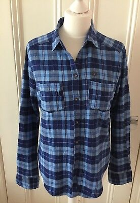 Hollister - Blue Checked Shirt, Size Small, New With Tag • 19.99£