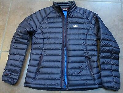 Gill Hydrophobe Down Jacket Navy - Womens - Size 12 • 75£