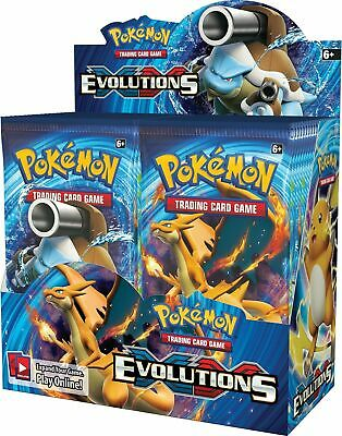 View Details Pokemon Evolutions XY Sealed Unopened Booster Box 36 Packs Of 10 Cards  • 151.99$