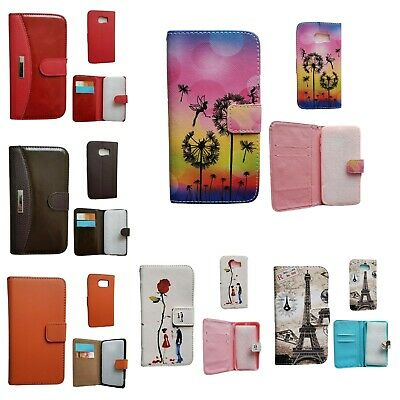 $ CDN5.89 • Buy Samsung Galaxy S6 Leather Wallet Cases With Card Slots And Magnetic Closure