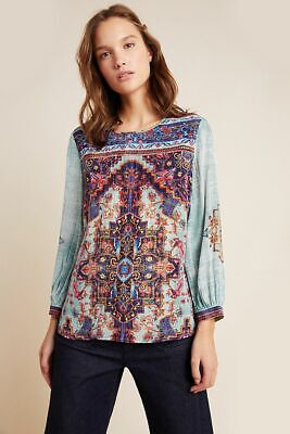 $ CDN75.14 • Buy New Anthropologie Prudence Blouse By Vineet Bahl.size XS