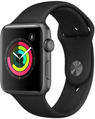 $ CDN119.96 • Buy Apple Watch Series 3 42mm Space Gray Aluminum With Black Nike Sport Band