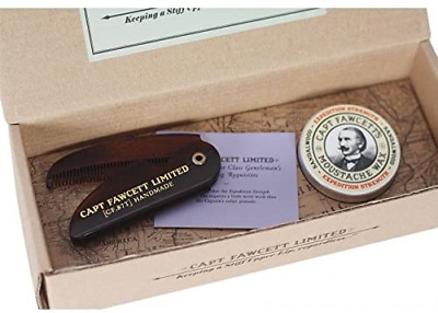 Captain Fawcett's Moustache Wax Expedition Strength & Folding Pocket Moustache - • 27.77£
